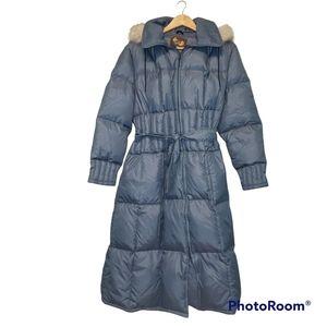 Ladies Retro Puffer Jacket Large Sears